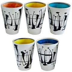 Five Cups by Roger Capron