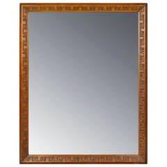 Mahogany Mirror by Frank Lloyd Wright