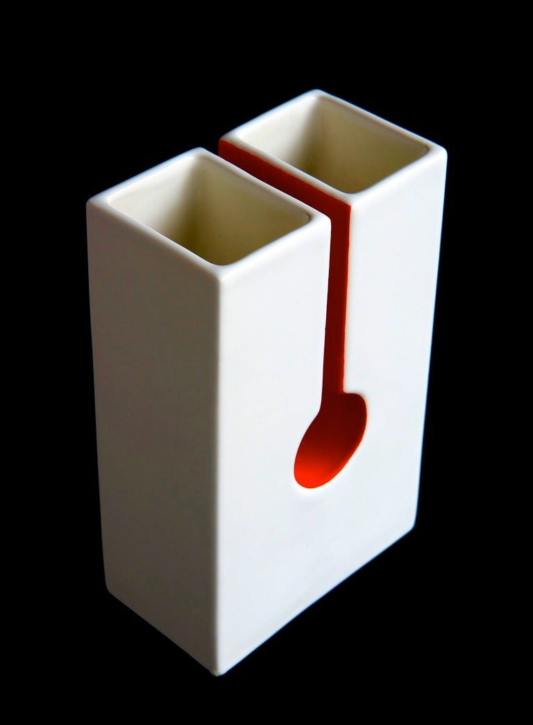 Mid-Century Modern Vase by Ico and Luisa Parisi For Sale