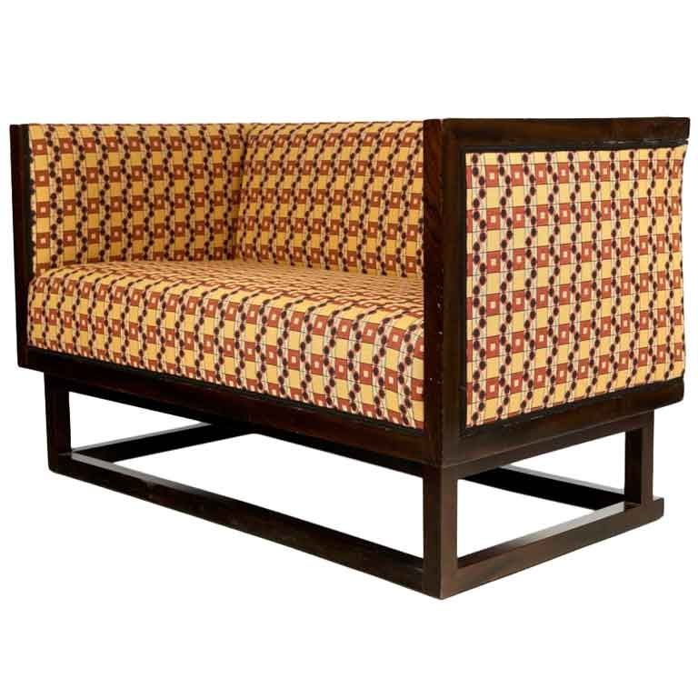 Sofa By Josef Hoffmann For