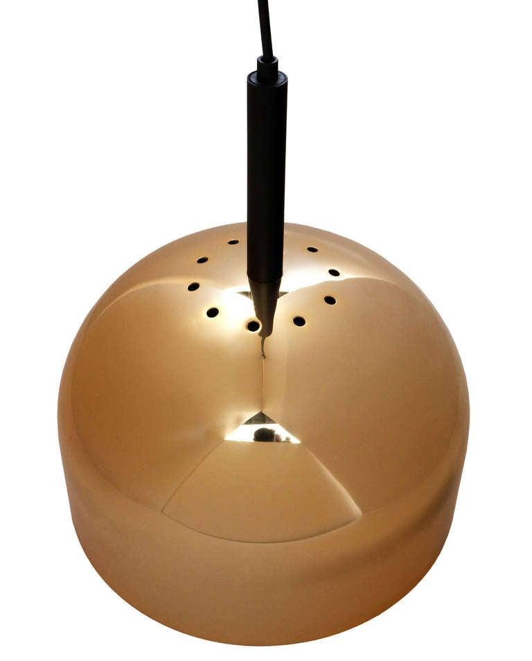 Brass Pendant Lamp by Stilnovo 4
