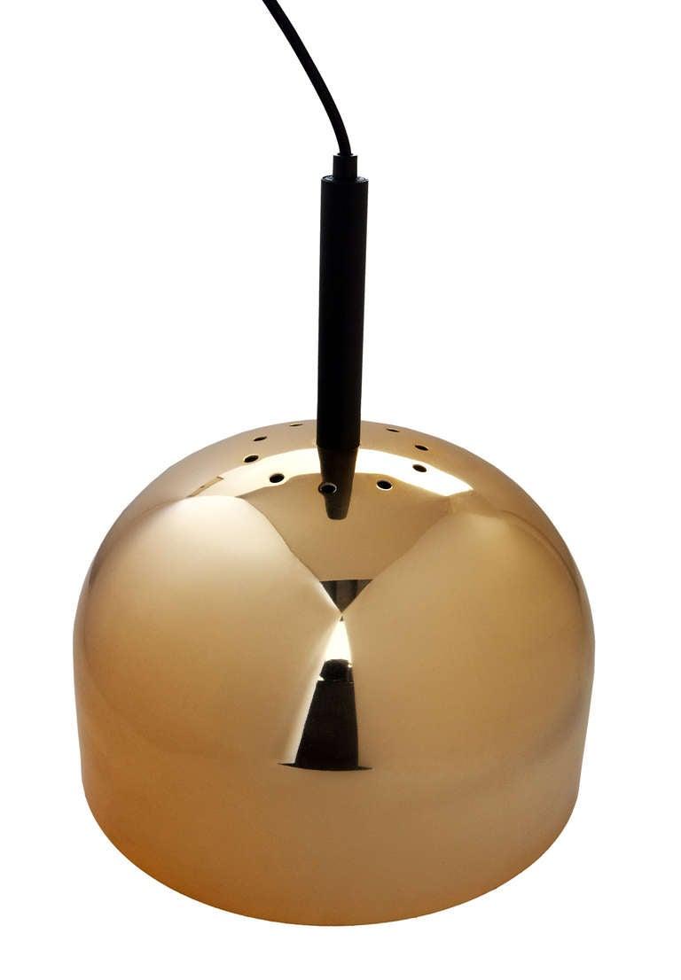 Brass Pendant Lamp by Stilnovo 3