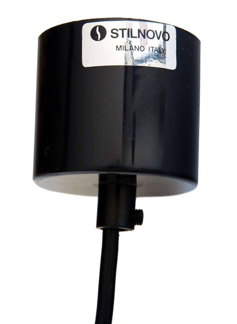 Brass Pendant Lamp by Stilnovo 8