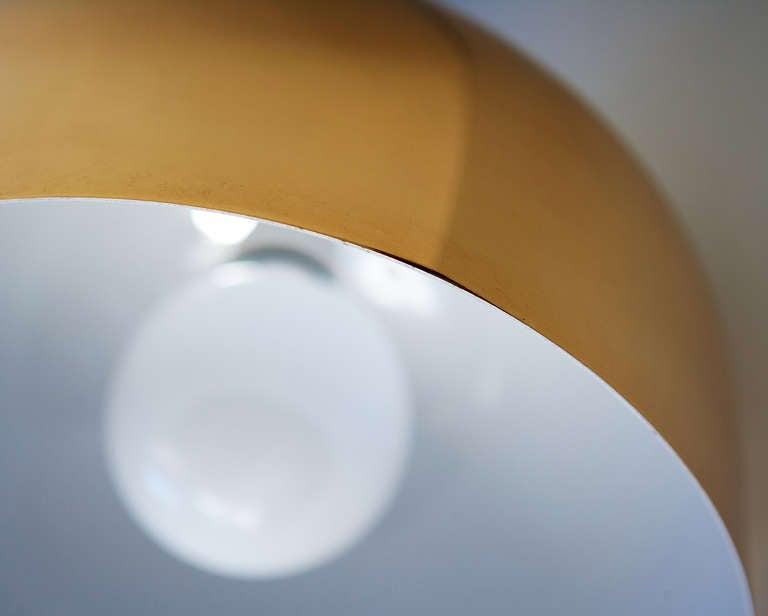 Brass Pendant Lamp by Stilnovo 6