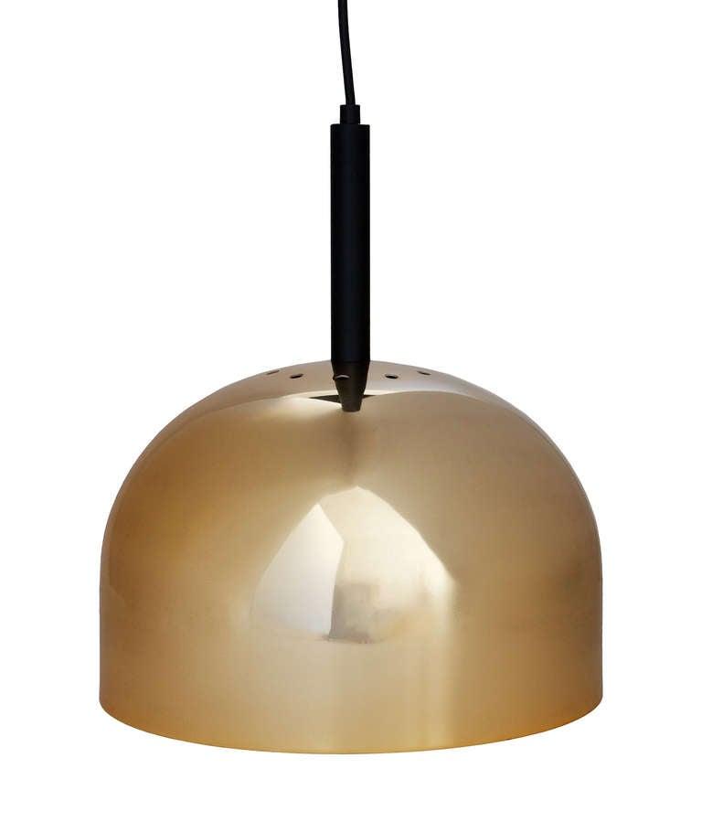 Brass Pendant Lamp by Stilnovo 2
