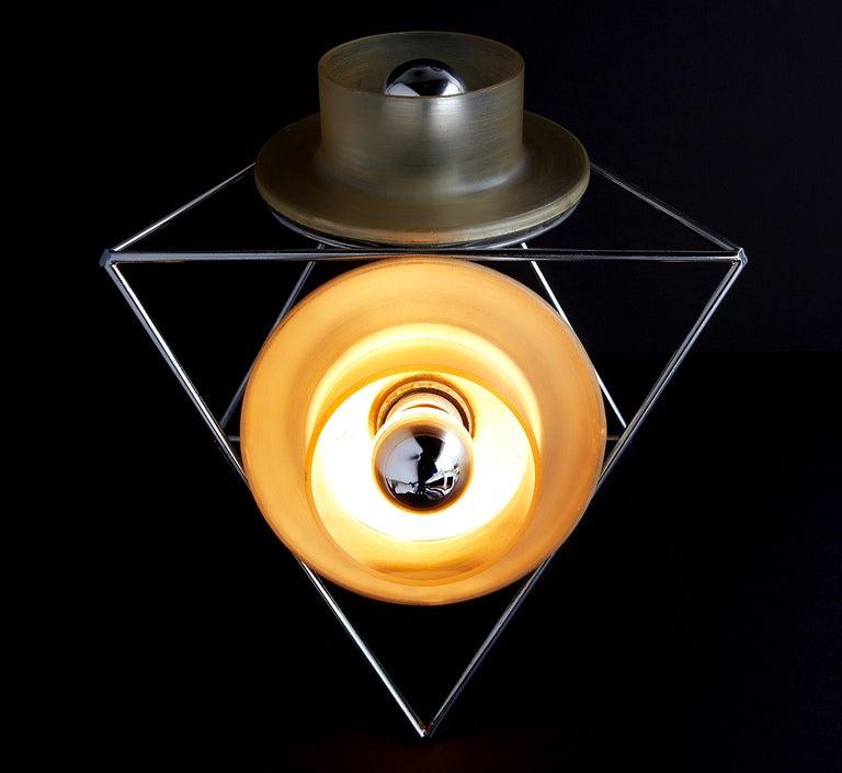 """Poliedra"" Lamp by Felice Ragazzo 10"
