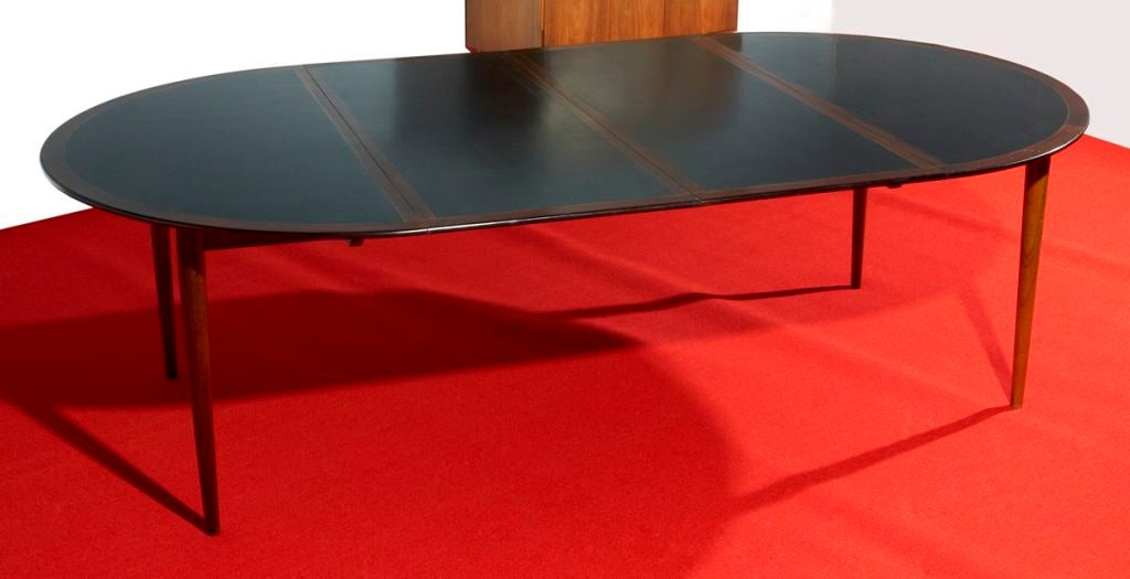 Dining Table by Grete Jalk In Excellent Condition For Sale In Los Angeles, CA