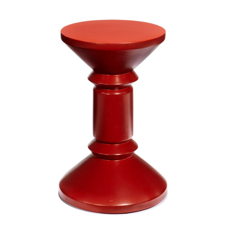Unique Stool By Ettore Sottsass