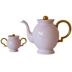 Porcelain Tea Set by Gio Ponti