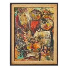"Oil Painting by Karl Nolde (""Kanol"")"