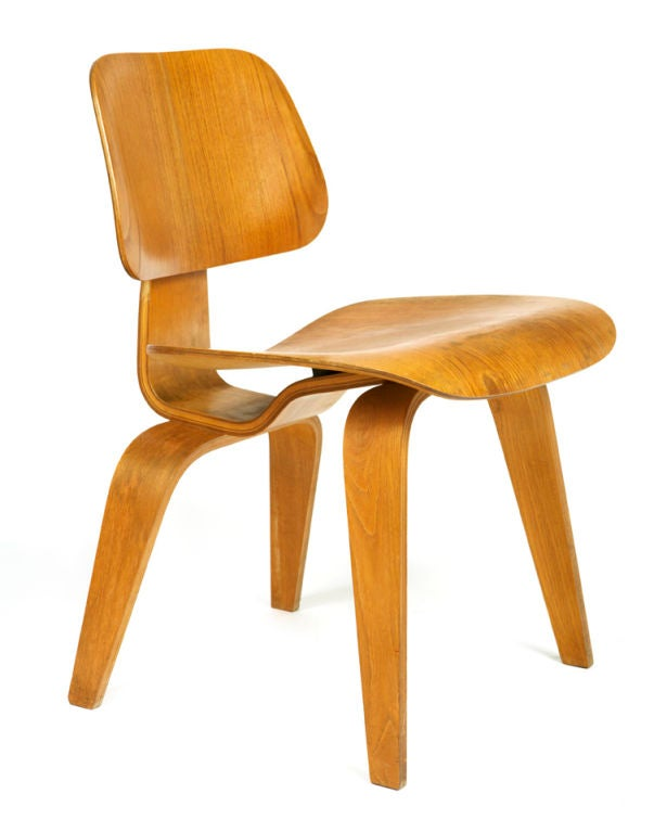 "Very Early ""DCW"" Chair by Charles Eames 2"