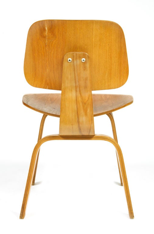 "Very Early ""DCW"" Chair by Charles Eames 3"