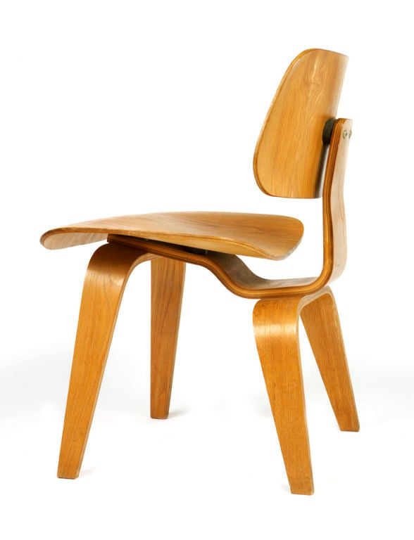 "Very Early ""DCW"" Chair by Charles Eames 4"
