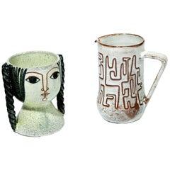 Ceramics by Miguel Durán-Loriga and Jean Rivier