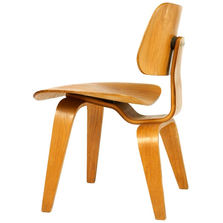 "Very Early ""DCW"" Chair by Charles Eames 1"