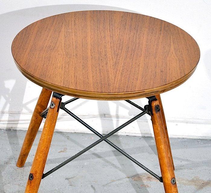 charles eames stool table at 1stdibs. Black Bedroom Furniture Sets. Home Design Ideas