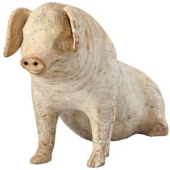 Nineteenth-Century Swedish Piggy Bank