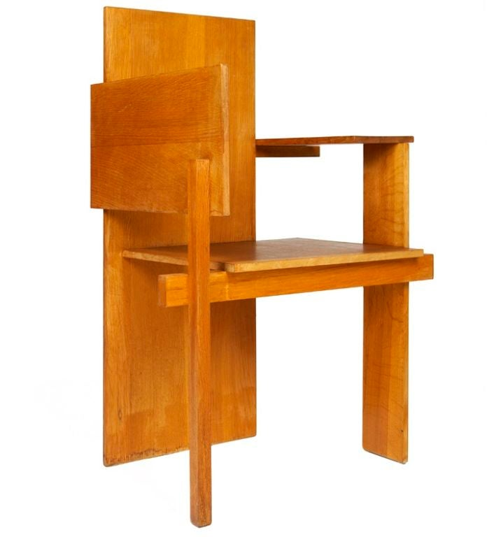 Quot Berlin Chair Quot By Gerrit Rietveld At 1stdibs