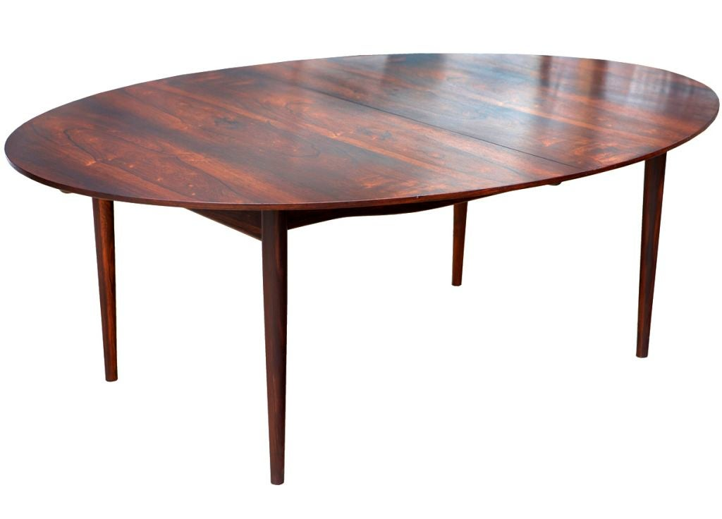 Rosewood Quot Judas Quot Dining Table By Finn Juhl At 1stdibs
