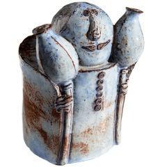 Ceramic Figure by Helena Samohelová