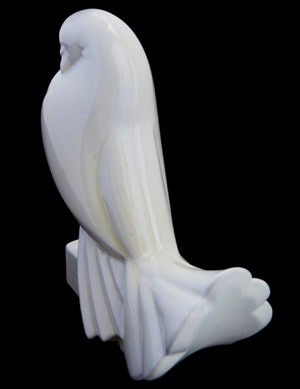 Faïence Sculpture by Jacques Adnet For Sale 4