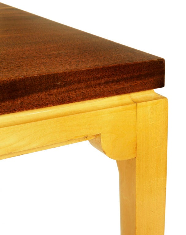 American Dining Table by Tommi Parzinger For Sale