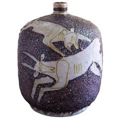 Vase / Lamp-Base by Guido Gambone