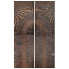 Bronzed Double-Door by Billy Joe McCarroll & David Gillespe