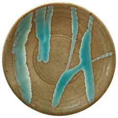Plate by Shoji Hamada