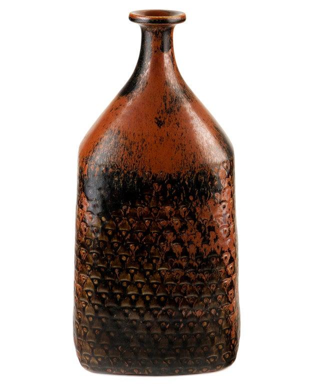 Very Large Bottle-Form Vase by Stig Lindberg 2