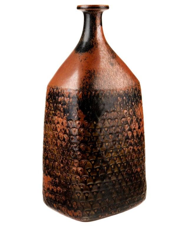 Very Large Bottle-Form Vase by Stig Lindberg 3