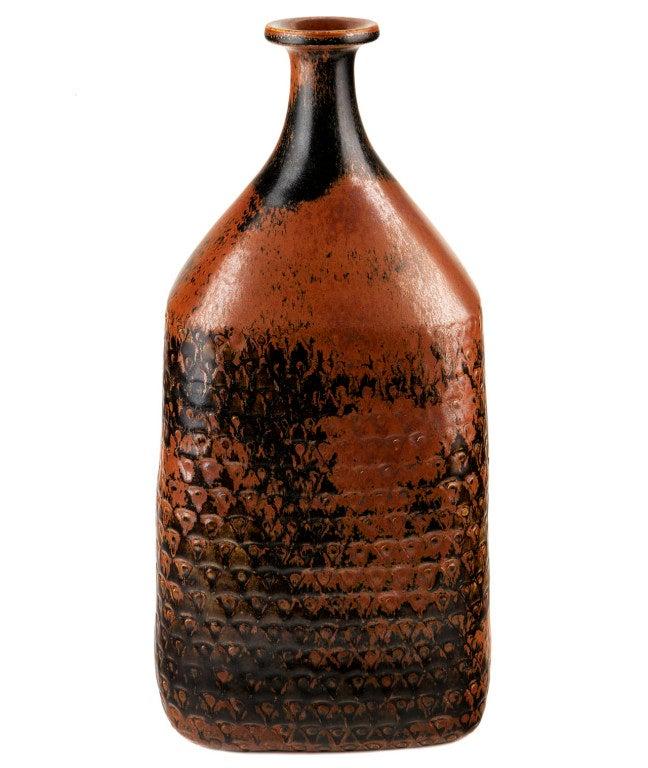 Very Large Bottle-Form Vase by Stig Lindberg 4