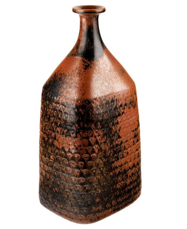 Very Large Bottle-Form Vase by Stig Lindberg 8