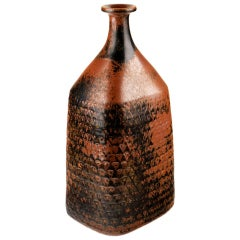 Very Large Bottle-Form Vase by Stig Lindberg