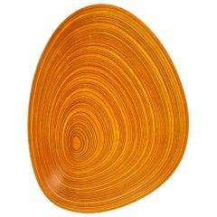 """Carved Plywood """"Leaf"""" Bowl by Tapio Wirkkala"""