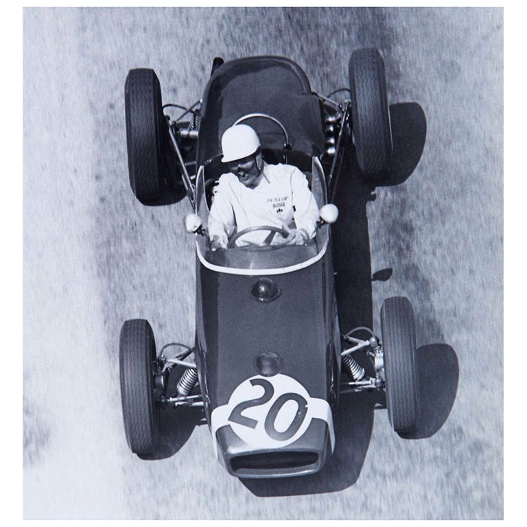 Stirling Moss Winning the \'61 Monaco GP in a Lotus 18 at 1stdibs