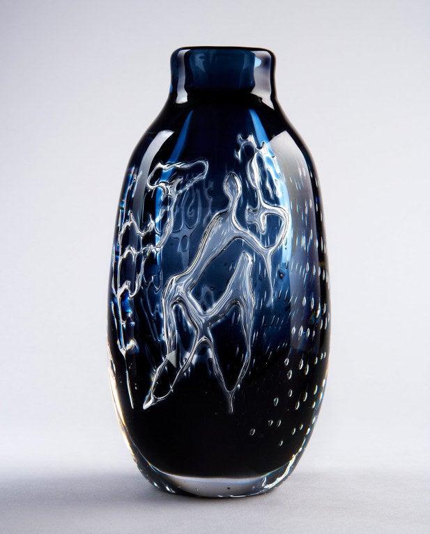 """Water Games"" Vase by Edvin Öhrström 9"