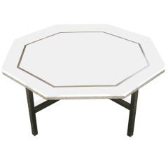 Harvey Probber Octagonal Terrazzo Top Coffee Table