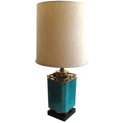 Hollywood Regency Style Stiffel Asian Form Table Lamp