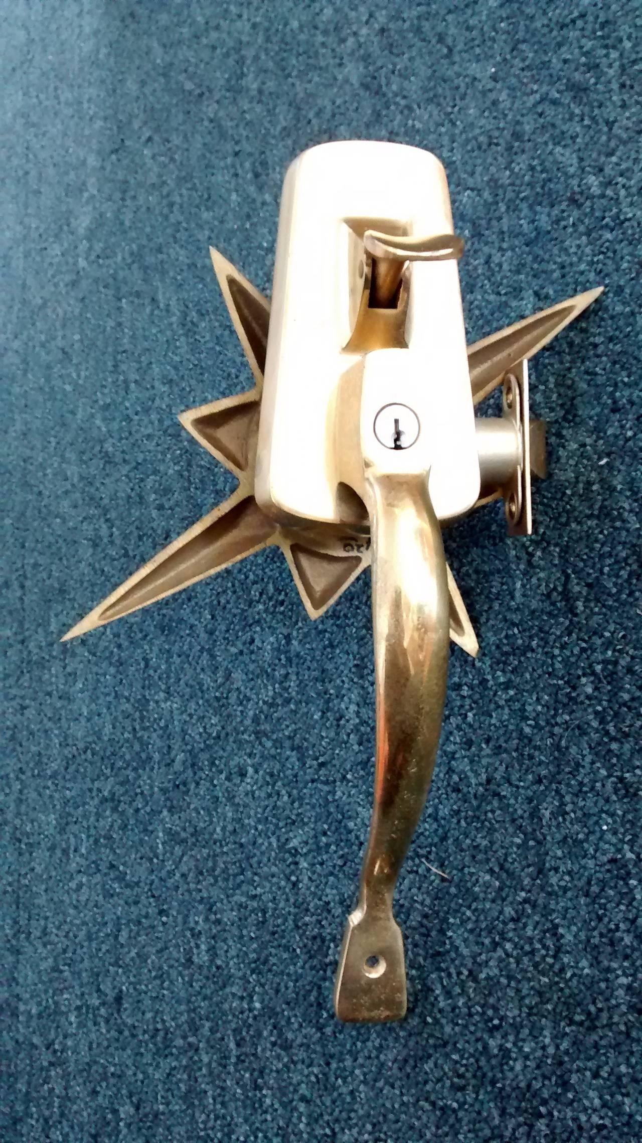 Weiser Lock Company Starburst Mid Century Door Hardware At