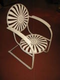 Pair of Amazing Francoise Carre Casablanca Garden Chairs thumbnail 4