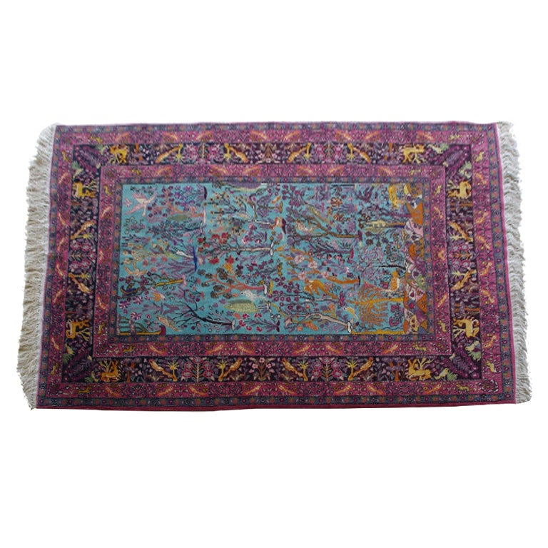 Indo Tabriz Rug/Carpet