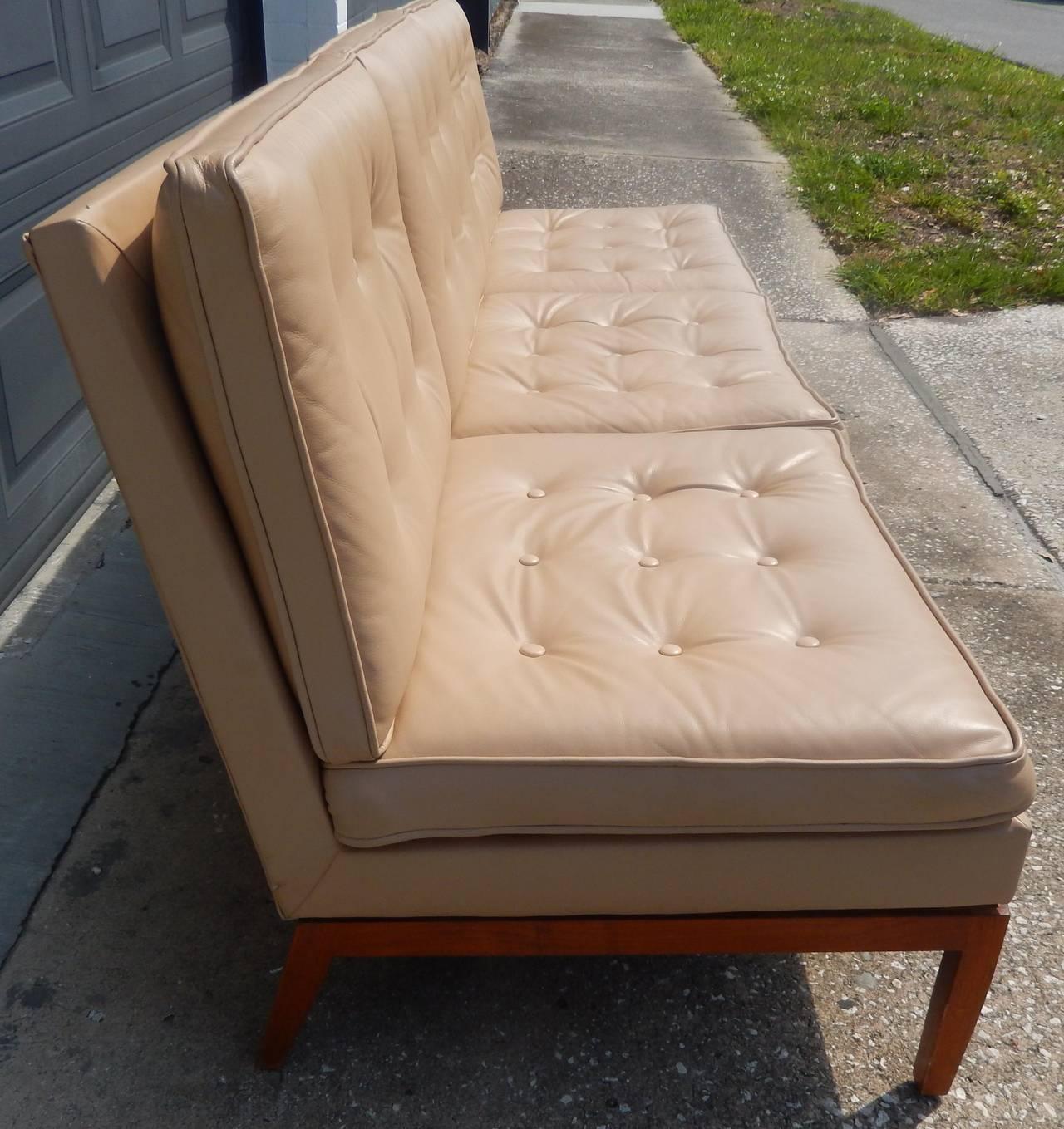 Knoll associates armless sofa at 1stdibs for Knoll associates