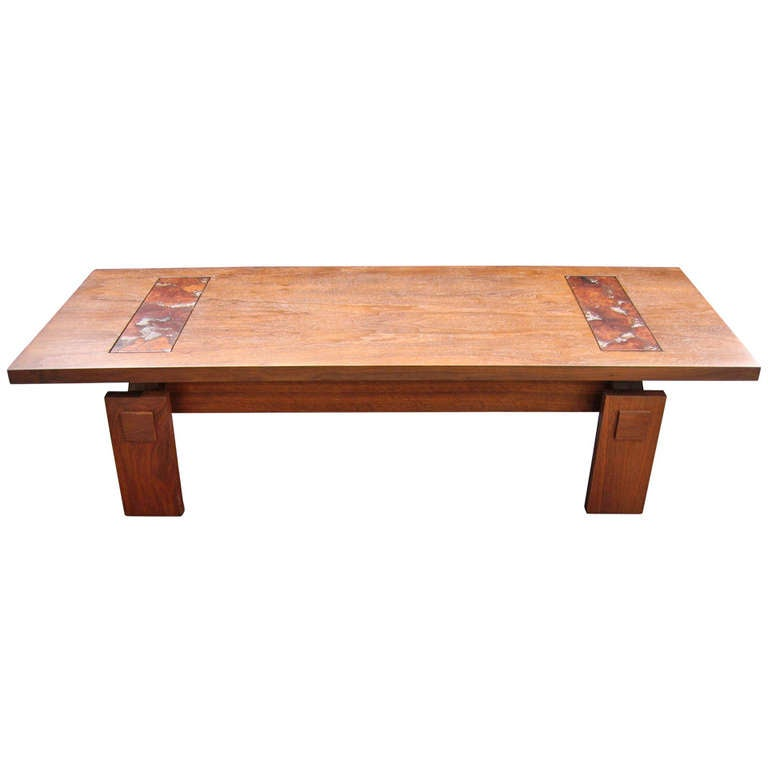 Lane architectural coffee table at 1stdibs for Architectural coffee table