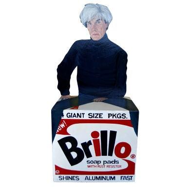Andy Warhol Brillo Box  Sculpture