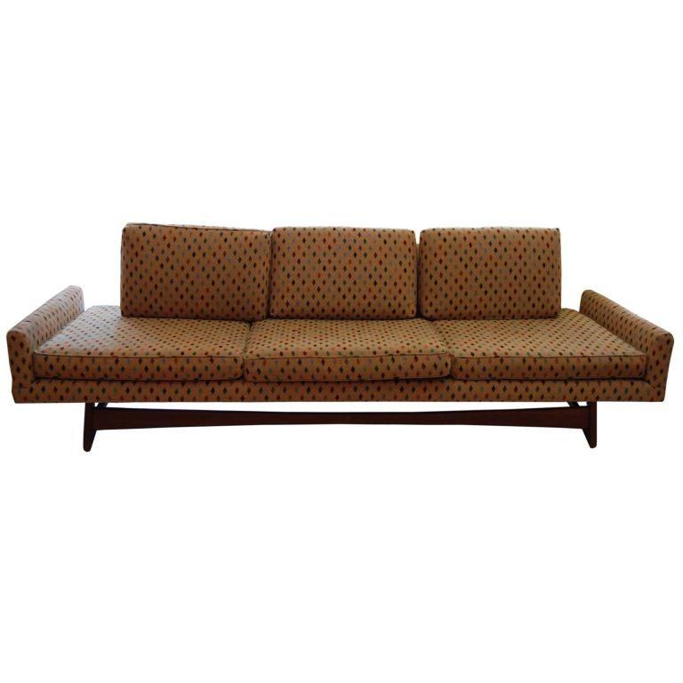 Adrian Pearsall Gondola sofa Pair Available at 1stdibs