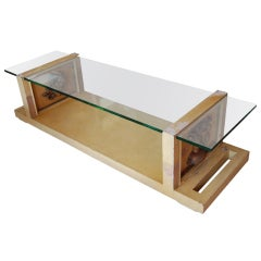 Signed James Mont Coffee Table
