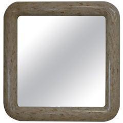 Sliced Bone Square Mirror