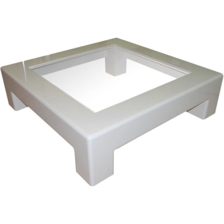Grande Scale 54 39 39 Square Wood Coffee Table At 1stdibs