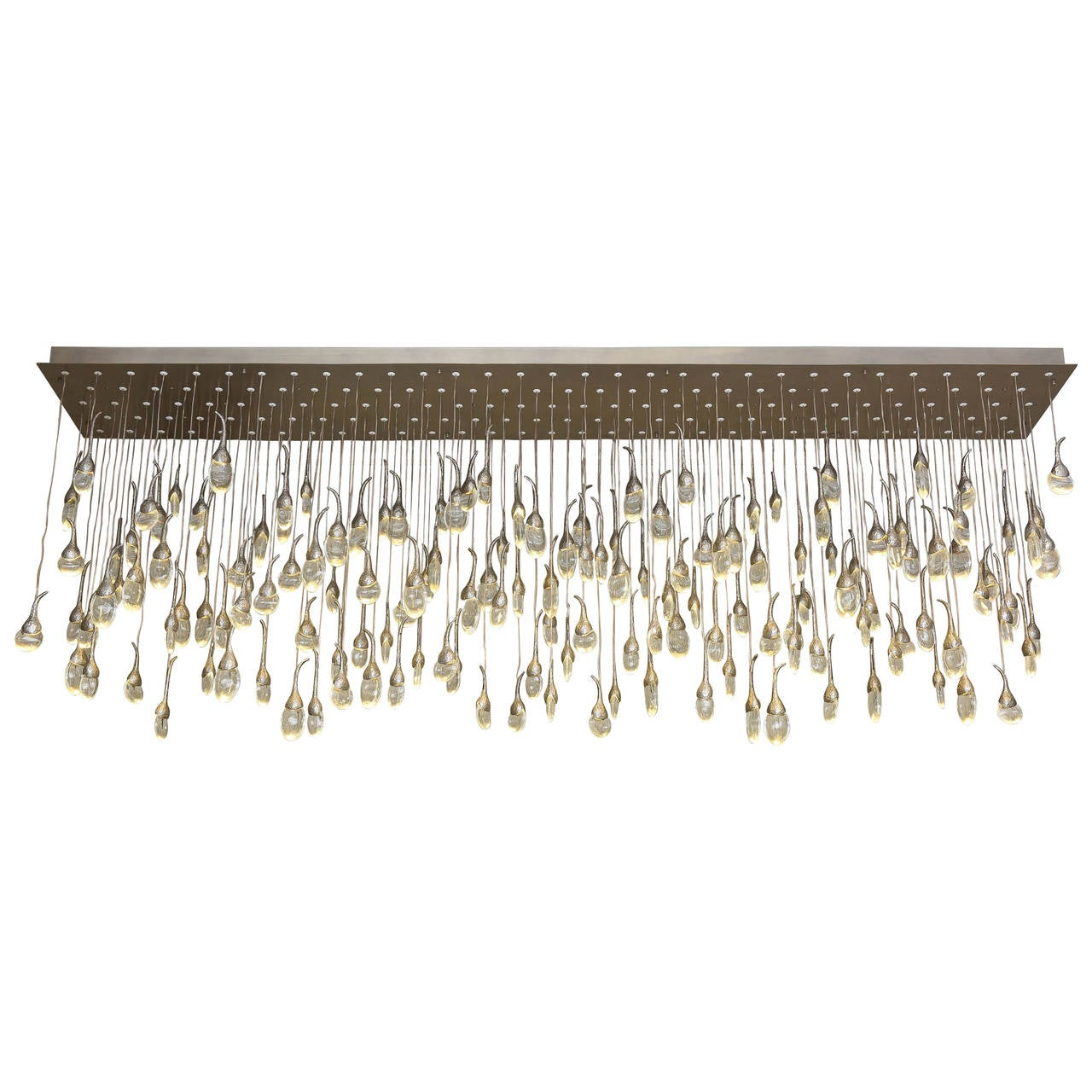 112 Light Seed Cloud Chandelier By Ochre At 1stdibs
